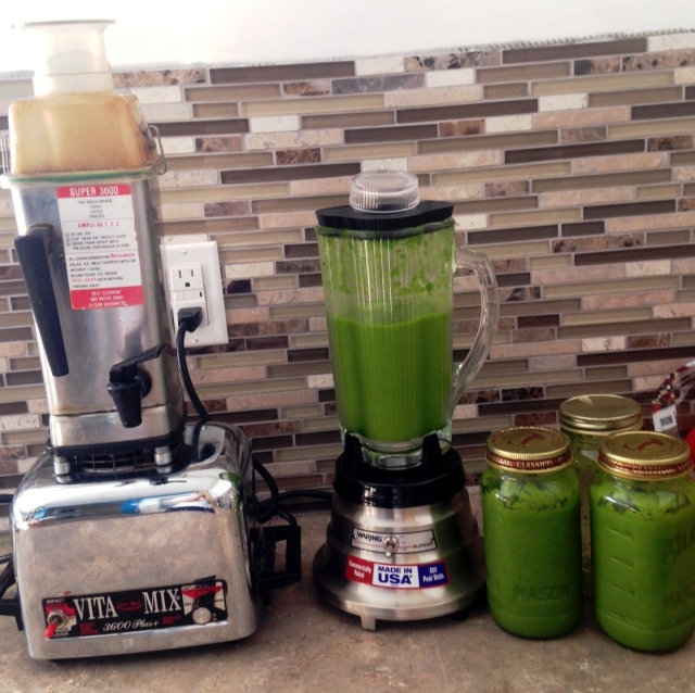 35 year old VitaMix and new Waring MBB518 Blender